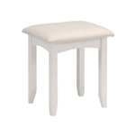 White Dressing Stools