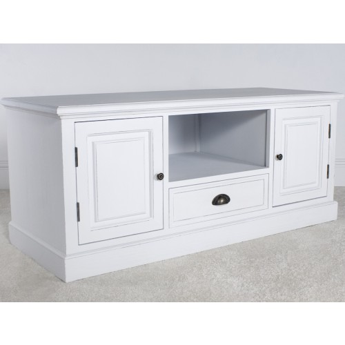 New England White 2 Door TV Cabinet