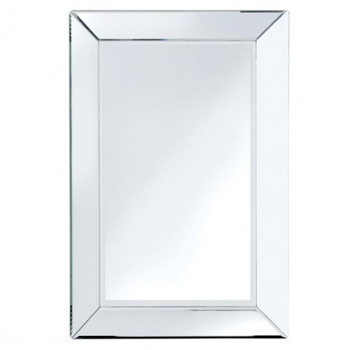 Bevelled Edge Mirror Medium