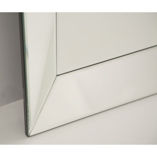 Bevelled edge mirror large for Beveled mirror