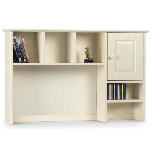 cameo white desk top shelves. Black Bedroom Furniture Sets. Home Design Ideas