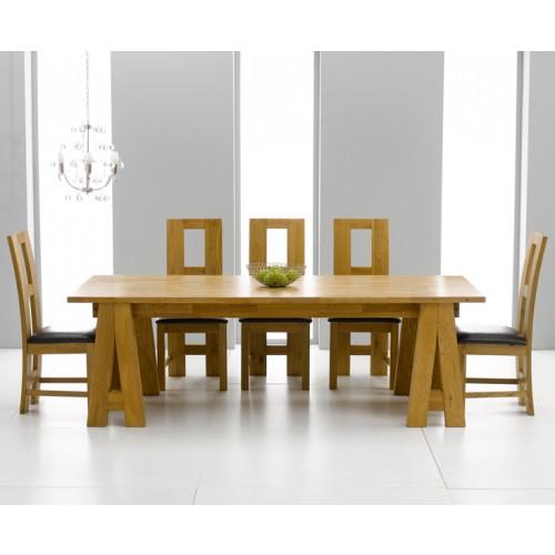Dining Table Oak Dining Table Care : kensingtonoakdiningtablewithlouischairs1 from choicediningtable.blogspot.com size 500 x 500 jpeg 33kB