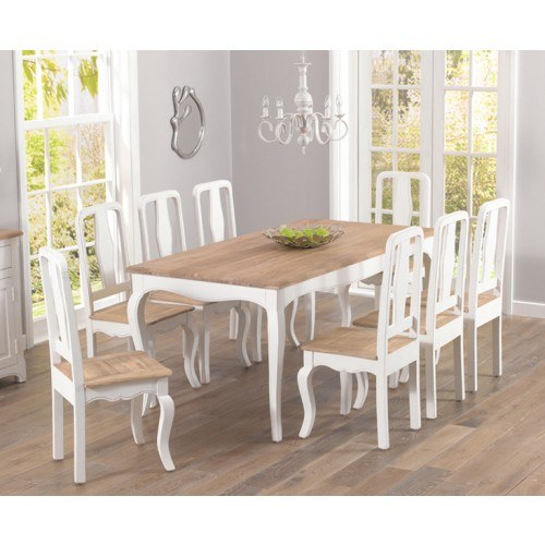 Sienna Ivory Painted Dining Table
