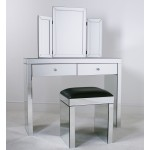 Mirrored Dressing Table Set