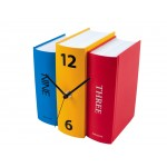 Coloured Book End Clock