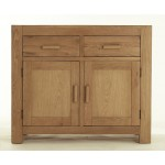 Contemporary Oak 2 Door Sideboard