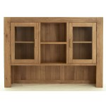 Contemporary Oak Large Dresser Top