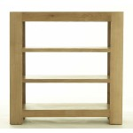 Contemporary Oak Small Bookcase