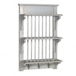 Duck Egg Blue Plate Rack