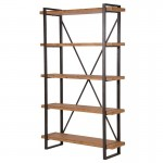 Foundry Industrial 4 Tier Bookcase