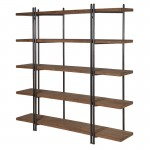 Foundry Industrial 5 Shelf Unit Large