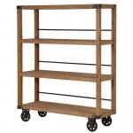 Foundry Industrial Shelf Unit on Wheels