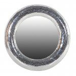 Glass Mosaic Round Mirror