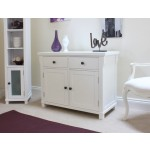 Hampton White Painted 2 Door Sideboard