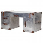 Aviator Aluminium Double Pedestal Desk