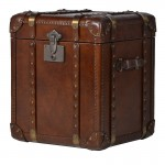 Luxury Steamer Trunk End Table
