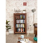 Mayan Walnut Open DVD CD Storage Cabinet