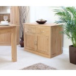 Mobel Oak 2 Door Sideboard