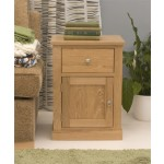 Mobel Oak Bedside Table
