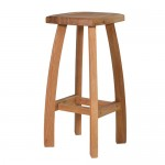 Oak Bahamas Bar Stool