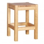 Bretton Oak Bar Stool - Low