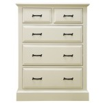 Regency Painted Large 2 over 3 Chest of Drawers