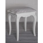 Stockholm Dressing Stool - White
