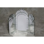 Venetian 3 Fold Dressing Table Mirror - Medium