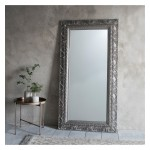 Versaille Leaner Mirror Silver