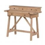 Weathered Oak Foldaway Desk