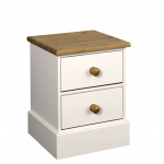 West Coast 2 Drawer Bedside