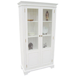 White Display Cabinets