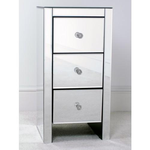 Slimline Bedside Cabinets White Designer Tables Reference
