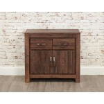 Mayan Walnut 2 Door Sideboard