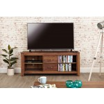 Mayan Walnut Widescreen TV Cabinet