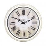 Round Cream Kitchen Clock