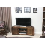 Shiro Walnut 2 Door TV Cabinet