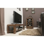 Shiro Walnut Low Widescreen TV Stand