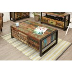 Urban Chic 4 Door 4 Drawer Coffee Table