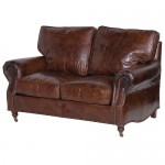 Vintage Leather 2 Seater Sofa