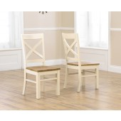 Hannah Oak Painted Dining Chair - Pair