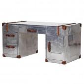 Aviator Aluminium Double Pedestal Desk