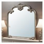 Palazzo Overmantel Mirror Silver