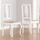 Sienna Ivory Painted Chair - Pair
