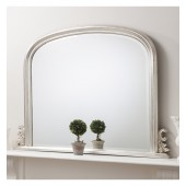 Thornby Overmantle Mirror Silver