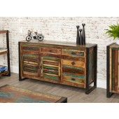 Urban Chic 6 Drawer Sideboard - Large