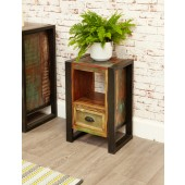 Urban Chic 1 Drawer Open Lamp Table