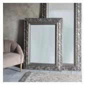 Versaille Rectangle Mirror Silver